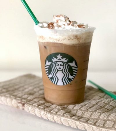 Copycat Starbucks Chilled Cinnamon Dolce Latte