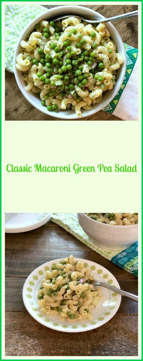 Macaroni Pea Salad Recipe Easy