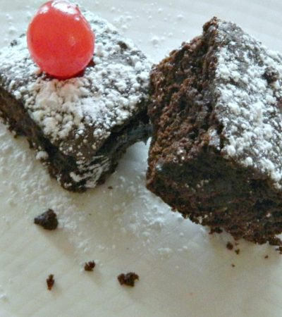 Maraschino Cherry Brownies