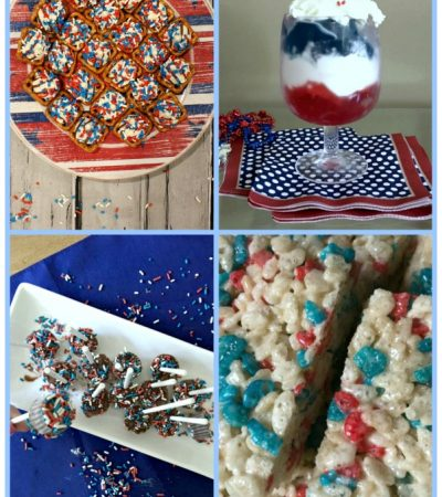 5 Last-Minute Patriotic Sweet Treats–All Easy Recipes!