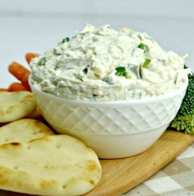 Simple Jalapeno Artichoke Dip