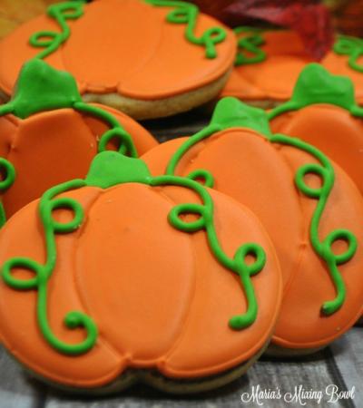 Maria's Pumpkin Spice Sugar Cookies