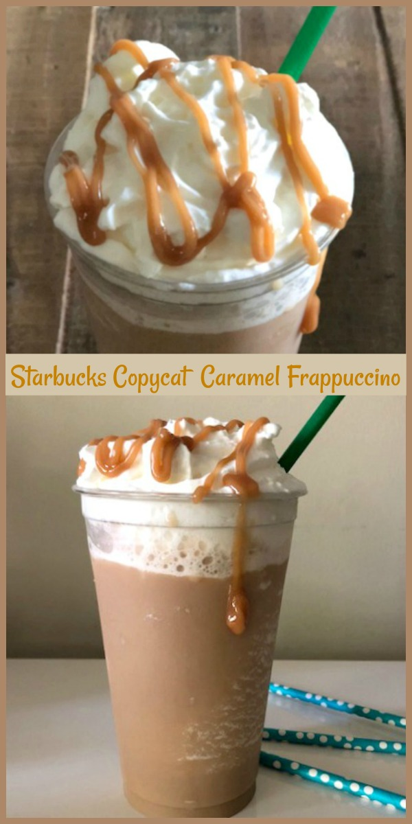 You'll love how easy this creamy caramel frappe is to make right in your own home. This Starbucks caramel frappuccino recipe shows you how to make a caramel frappe, at a fraction of the cost that you would spend if you had to buy one of these crazy delicious beverages. Whirl one up and enjoy every last sip! via @skinnydesserts