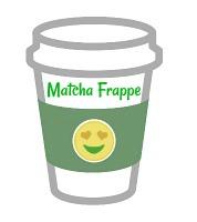 Matcha Frappe illustration