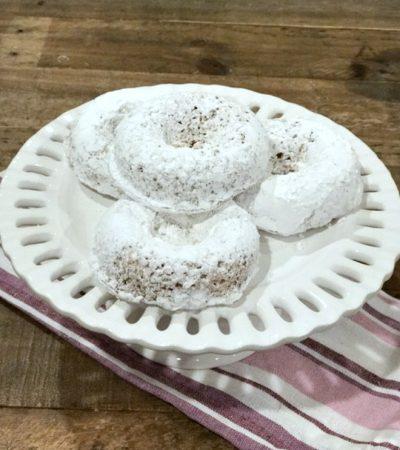 Small Batch Whole Wheat Greek Yogurt Baked Donuts