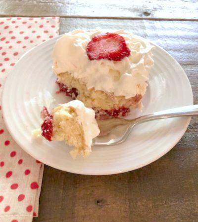 Easiest Recipe for Strawberry Dump Cake