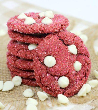 Cake Mix Red Velvet Cookies