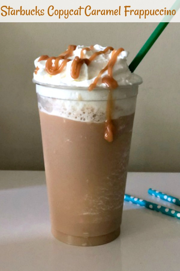 Copycat Starbucks Caramel Frappuccino Pams Daily Dish