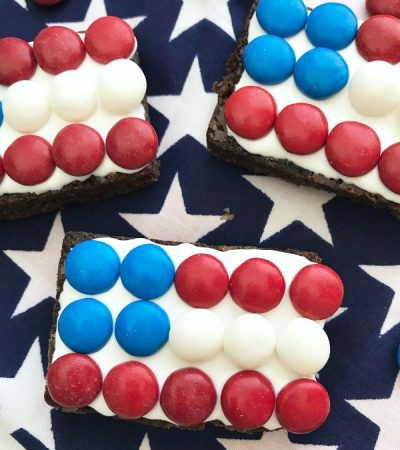Fun To Make Flag Brownies