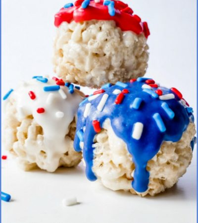 Festive Crunchy Marshmallow Balls