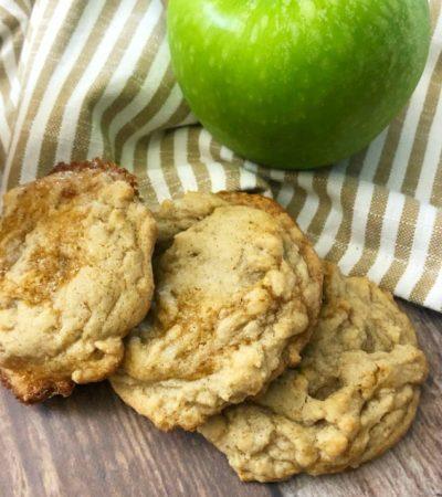 Easy Caramel Apple Spice Cookies