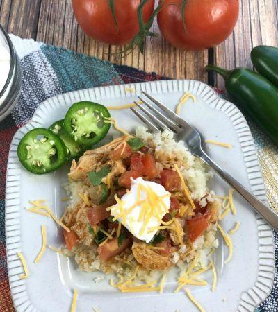 Slow Cooker Enchilada Chicken
