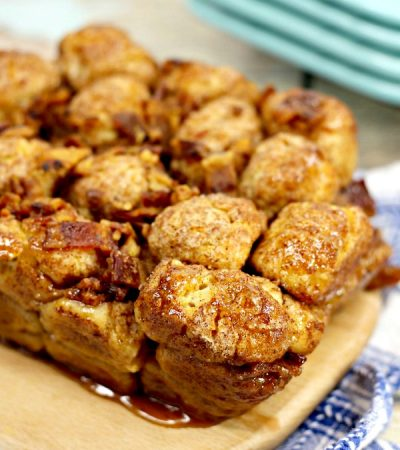 Simple Maple Bacon Monkey Bread