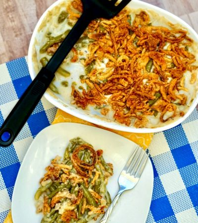 Simple Family Favorite Green Bean Casserole