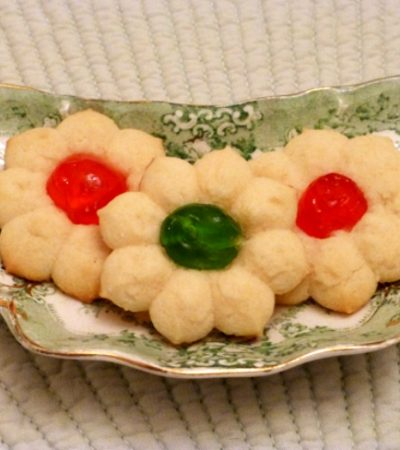 Dainty Tea Cookies