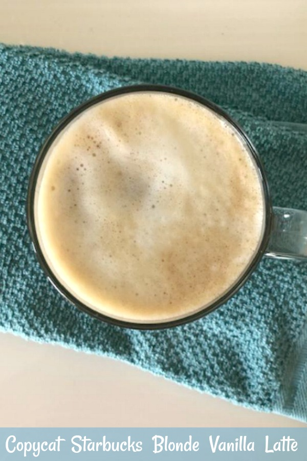 Here's an easy copycat Starbucks blonde vanilla latte recipe you can make at home in just a few minutes. This simple vanilla blonde latte has only three ingredients and can easily be served hot or iced. You're in for a treat if you love the taste of Starbucks vanilla lattes! via @skinnydesserts