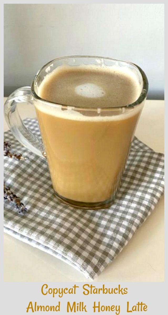 honey almond milk latte recipe