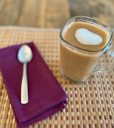Copycat Starbucks Almond Milk Honey Latte