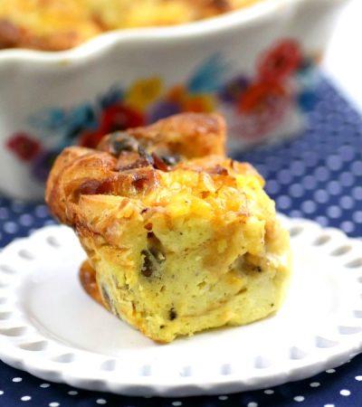 Bagel Breakfast Casserole