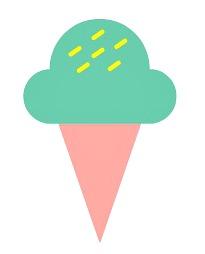 ice cream cone cartoon